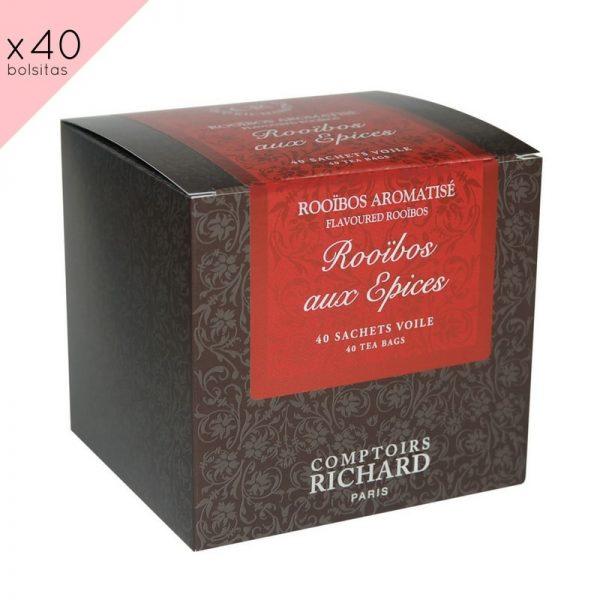 """""""Rooibos aux Épices"""". Caja de 40 sobres"""