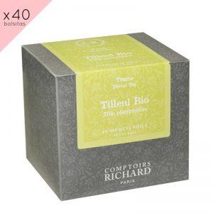 """Infusion Bio """"Tilleul"""" en caja de 40 sobres"""